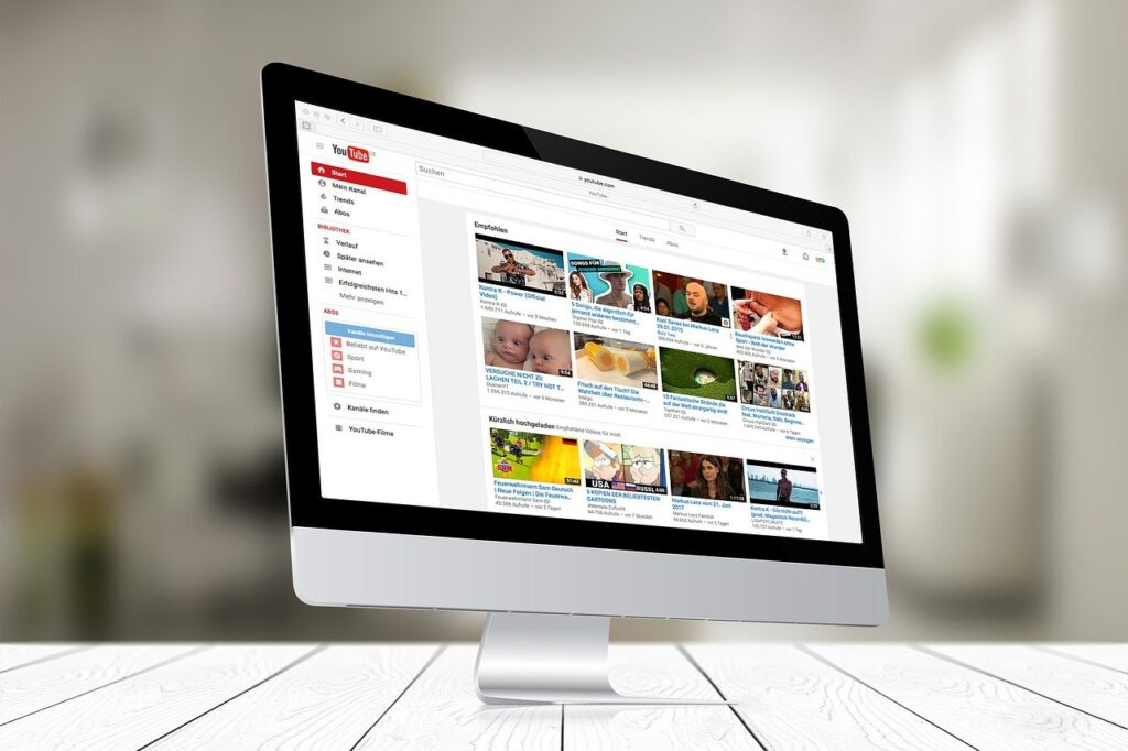 youtube, media, screen